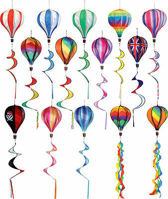 Hot Air Balloon Wind Spinner For Telescopic Windsock Flag Pole