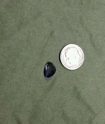 2.55 CT Natural Iolite Gemstone AAA Quality 10.8X8.3 MM Pear Shape Faceted