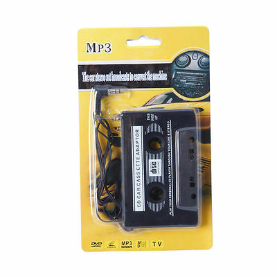 Car Cassette Tape Adapter For Mobile Phones, Tablets, Smartphones, iPods Travel
