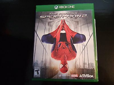 Replacement Case (NO VIDEO GAME) THE AMAZING SPIDER-MAN SPIDERMAN 2 XBOX ONE 1