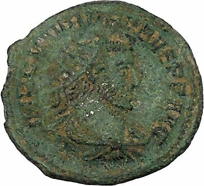 Probus  receiving globe from Jupiter 276AD Authentic Ancient  Roman Coin i45923