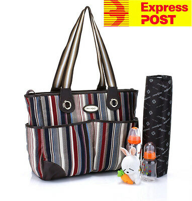Clearance!!! Mes Enfants Carry All Diaper Nappy Changing Mum Bag Set