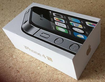 New Apple iPhone 4S 16GB Black Factory Unlocked GSM