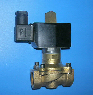 "1/2"" Electric Solenoid Valve 12-V DC NORMALLY OPEN, new"