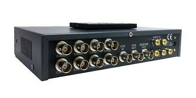 8-Channel Video Switcher Picture-In-Picture Video Processor With Audio Support