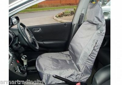 Car Van Front Seat Cover Waterproof Single Grey Heavy Duty Protector Maypole 650