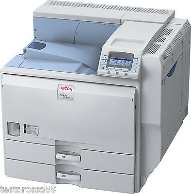 RICOH Aficio SP8200DN Mono Laser A3 Printer Low Prints Tested & Guaranteed