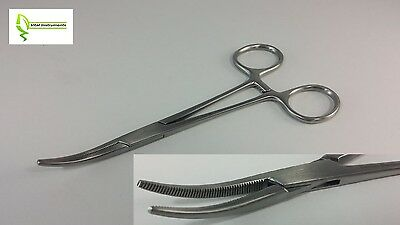"Crile Hemostat Forceps 5.5"" CURVED GERMAN STAINLESS STEEL CE Surgical Dental"