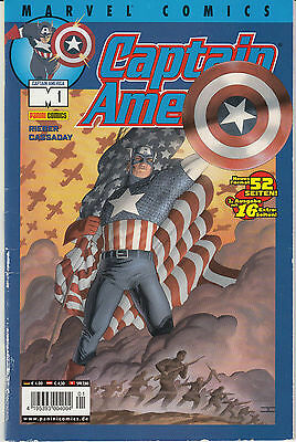 Marvel Comics Captain America Heft #1 /  2003      C1085