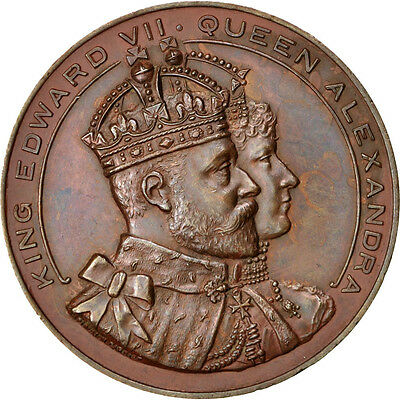 [#69014] Great Britain, History, Medal, AU(55-58), Copper, 51, 55.60
