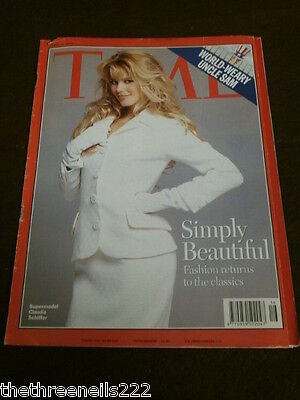 Time Magazine - Claudia Schiffer Cover - April 17 1995
