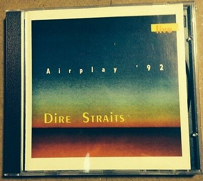 DIRE STRAITS - AIRPLAY '92 - CD LIVE  Ltd Ed - no CDr MINT SEALED