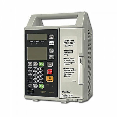 The Baxter Flo-Gard 6201 IV Fluid Infusion Pump for  Medical or Veterinary Use