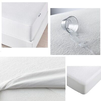 IKEA GOKART Waterproof Mattress Protector Fitted Sheet Bed Cover UK&EU sizes NEW