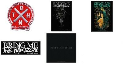 Bring Me The Horizon sew on Patch/Patches NEW OFFICIAL. choose from 5 Designs