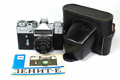 ZENIT E 35mm SLR Camera with INDUSTAR-50-2 Lens *OLYMPIC VERSION*