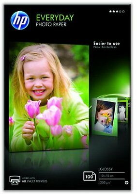 Carta fotografica HP CR757A Everyday Glossy Photo Paper 100 A6 10 x 15 cm (A6)