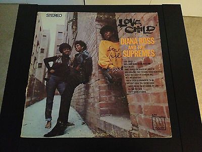 Diana Ross and The Supremes - Love Child - MS-670 - LP Record