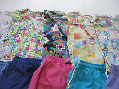 Womans Lot Of Scrub Sets, 5 Tops, 5 Pants, Very Nice    Size Xs (Box 200)