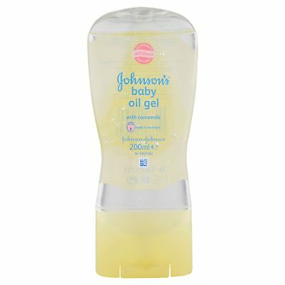 Johnson's Baby Oil Gel with Camomile 200ml   Single Unit