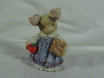 Enesco This Little Piggy Learning Is Never A Boar With You Mary Rhyner Nadig