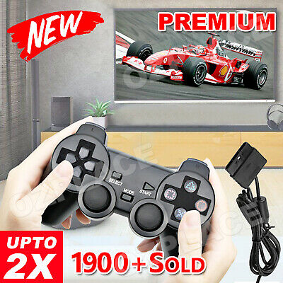 Premium L 2X Brand New Dual Shock Gamepad For Sony Playstation 2 PS2 Controller