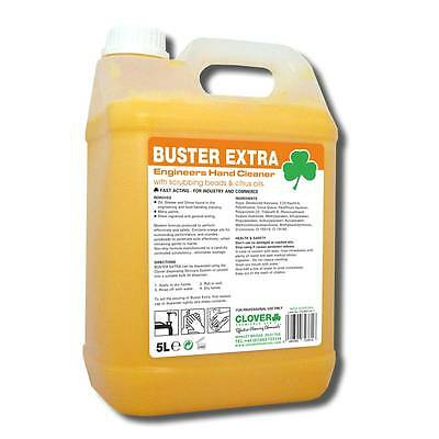 CLOVER Buster Extra Citrus Beaded Hand Cleaner 5l