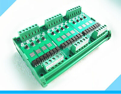 PLC driver board 12-channel Solid State Relays
