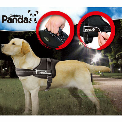 Extreme Padded Adjustable Dog Walk Harness Large Heavy Duty Husky All Sizes in