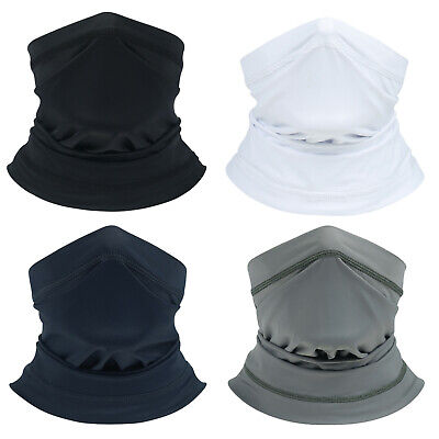 Multi use Biker Running Balaclava Neck Tube Snood Scarf Face Mask Warmer Bandana
