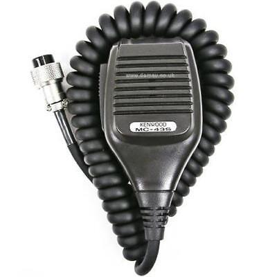 Kenwood MC-43S 8 PIN Dynamic Hand Fist Microphone Up/Down Buttons Amateur Radio