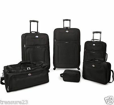 Travel American Tourister 6 Piece Luggage Set Black