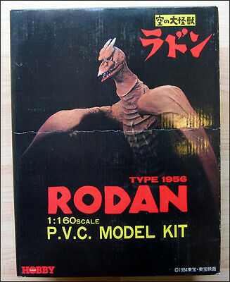 Rodan Type 1956 PVC P.V.C. Model Kit 1:160 Scale FIGURE TOY Tsukuda Hobby RARE!!
