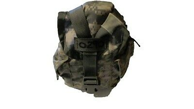 US Army Military Surplus MOLLE II 1 Qt Canteen ACU General Purpose Pouch Bag GVG