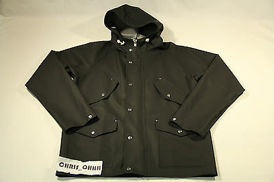 NORSE PROJECTS ELKA 4 POCKET SPORT JACKET BLACK N55-0080 LOT DENMARK RAINWEAR