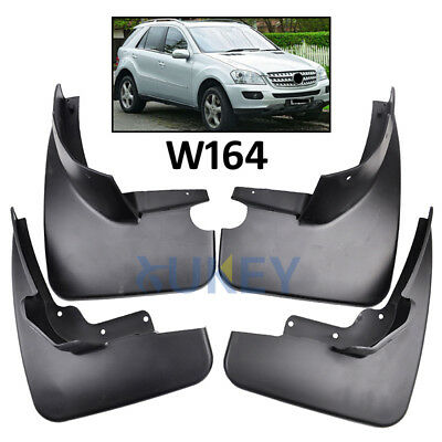 Set Fit For 06~11 Benz M-Class W164 Ml350 Ml500 Mudflaps Mud Flaps Splash Guards
