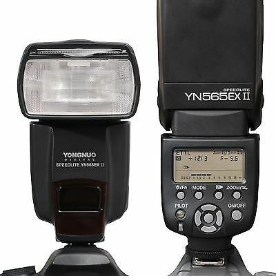 Yongnuo YN-565EX II E-TTL Flash Speedlite For CANON 70D 60D 7D 6D 5D Mark II/III