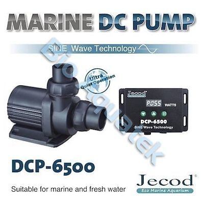 Jecod Variable Flow DCP-6500 DC Aquarium Return Pump & Controller - NEW 2017
