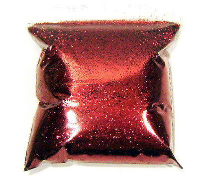 "11oz / 325ml Royal Red .015"" Metal Flake Auto Paint Additive Flakes - LF0811"