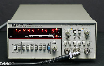 HP / Agilent 5316B Universal Counter opts. 3 & 4 Oven Time Base & 1 GHz C-Chan
