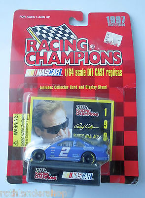 #2 FORD RUSTY WALLACE PENSKE. NASCAR. 1997 EDITION RACING CHAMPIONS 1:64