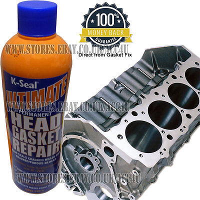 K-SEAL ULTIMATE Permanent Cracked Head Gasket Seal Fix and
