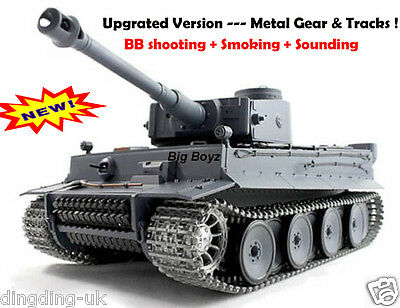 HENG LONG RADIO REMOTE CONTROL R/C TIGER 1 TANK -- 2.4 G  Pro Version !!