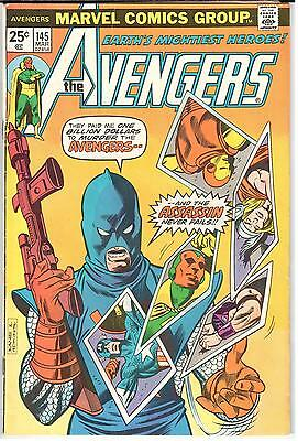 The Avengers (1963 Series) #145 March 1976 Marvel VG/FN 5.0