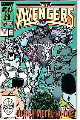 The Avengers (1963 Series) #289 March 1988 Marvel VF- 7.5