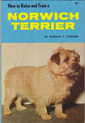 NORWICH TERRIER VINTAGE BOOK HOW TO RAISE