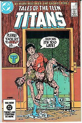 Tales of the Teen Titans (1980 Series) #45 August 1984 DC NM- 9.2