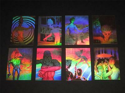 ALIENS © 1992 Outsiders Report Complete Set of 8 Holograms