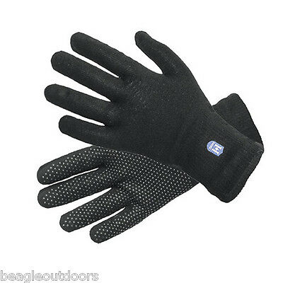 NEW Hanz Lightweight Waterproof Breathable Gloves Extra-Large Black Glove