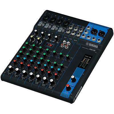 Yamaha MG10 10 Channel Stereo Mixing Console